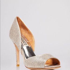 Badgley Mischka - Mitzi peep-toe 3 3/4 inches